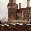 Exterior Facade of Casa Loma in Toronto — Stock Photo