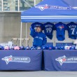 Blue Jays Memorabilia outside the stadium — Stock Photo #44356619