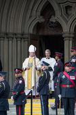 Funeral de estado jim flaherty em toronto, canadá — Foto Stock