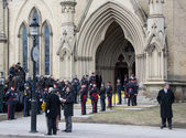 Jim Flaherty State Funeral in Toronto, Canada — Stock Photo