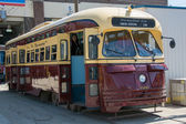 Vintage Streetcars part of Toronto heritage — Stock Photo