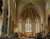Inside St. James Cathedral in Toronto,Canada — Stock Photo