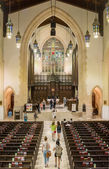 Inside Toronto Metropolitan United Church — Stock Photo