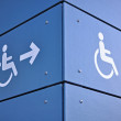 Able access sign — Stock Photo