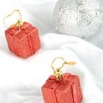 Christmas bauble on white background — Stock Photo #16215033
