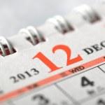 2013 December calendar — Stock Photo #16215179