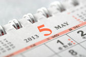 2013 May calendar — Stock Photo