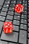 On-line gamble — Stock Photo