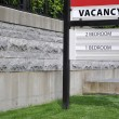 Vacancy sign — Stock Photo