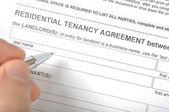 Residential tenancy agreement — Stock Photo
