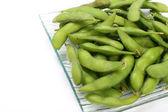 Soybean isolated on white background — Stock Photo