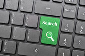 Search on keyboard — Stock Photo