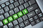 Bônus no teclado — Foto Stock