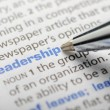 Leadership - Dictionary Series — Stock Photo
