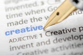Creative - Dictionary Series — Stock Photo