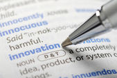 Innovation - Dictionary Series — Stock Photo