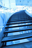 Stairway of the mall entrance — Stock Photo