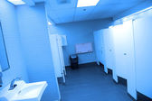 Interior of public washroom — Stock Photo