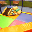Abstract photograph featuring childrens play equipment — Stock Photo