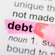 Debt — Stock Photo #32118531