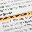 Communication — Stock Photo