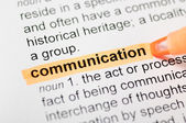 Kommunikation — Stockfoto