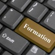 Formation on keyboard — Stock Photo
