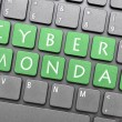 Cyber Monday on keyboard — Stock Photo