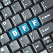 Bff key on keyboard — Stock Photo #37656501