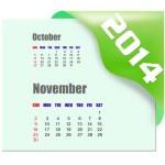 2014 November calendar — Stock Photo #38185095
