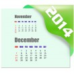 2014 December calendar — Stock Photo #38185099