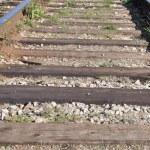 マクロの鉄道 — ストック写真