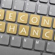 Second chance on keyboard — Stockfoto