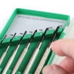 Six piece precision screwdriver set. — Stock Photo