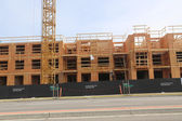 New construction site — Stock Photo