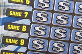 Scratch ticket background — Stock Photo