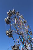 Large Ferris wheels cabins — Stock Photo