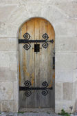 Old fashioned door — Stock Photo