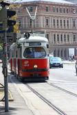 Vienna tram — Foto Stock