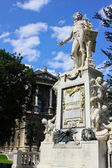 Statue of Mozart, Vienna — Stock Photo