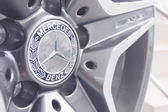 Mercedes-Benz wheel — Stock Photo
