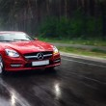 Постер, плакат: Mercedes Benz SLK 350