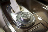 Car control panel and automatic transmission — Fotografia Stock