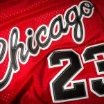 Постер, плакат: Michael Jordan jersey