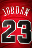 Michael Jordan jersey — Stock Photo