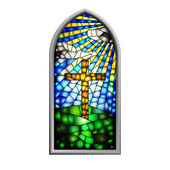 Stained Glass — Wektor stockowy
