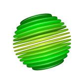 Sliced Sphere — Stock Vector