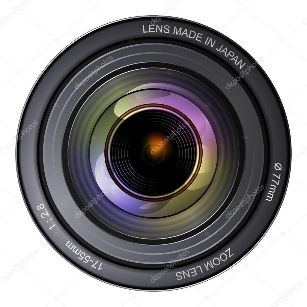 相机镜头 — 图库矢量图像08