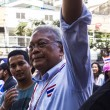 PDRC leader Suthep Thaugsubcontinue shutdown Bangkok camp — Stock Photo #40471373