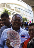Bangkok, Thailand - January 30:PDRC leader Suthep Thaugsuban — Stock Photo